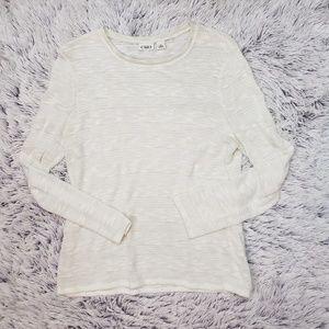 Cato Ivory Lightweight Sweater